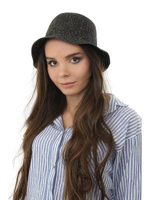 Шляпа Happy Charms Family. Цвет: серый, золотистый