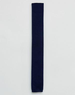 Ted Baker Вязаный галстук. Цвет: темно-синий