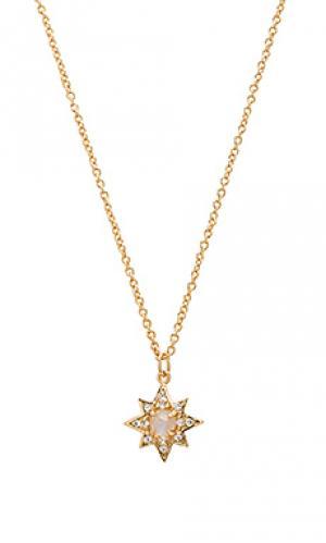Ожерелье starburst Melanie Auld. Цвет: металлический золотой