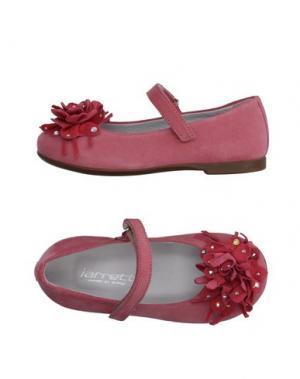 Балетки JARRETT. Цвет: розовый