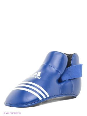 Защита стопы Super Safety Kicks Adidas. Цвет: синий
