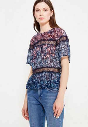 Блуза Pepe Jeans. Цвет: разноцветный