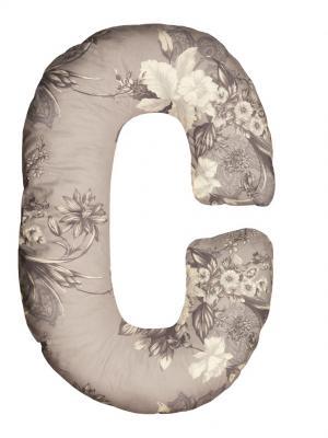 Подушка для беременных Здоровье и комфорт. Цвет: серый, белый