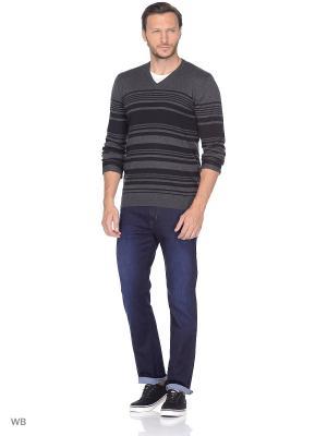 Пуловер Wrangler. Цвет: темно-серый