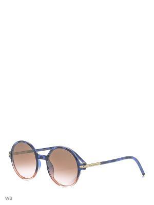 Солнцезащитные очки MARC JACOBS. Цвет: синий