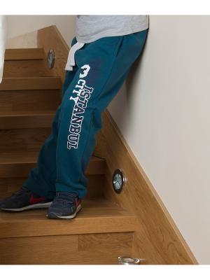 Спортивные брюки WonderKids. Цвет: темно-зеленый