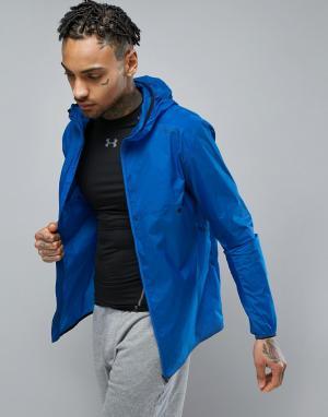 Jack & Jones Легкая спортивная куртка. Цвет: синий