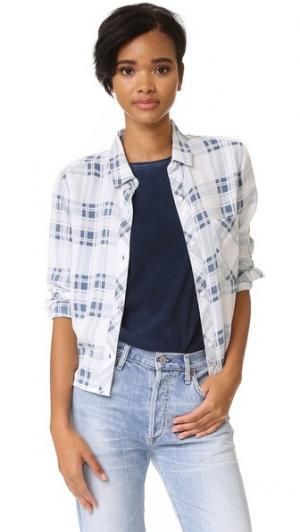 Клетчатая рубашка на пуговицах Dana RAILS. Цвет: пигментная клетка