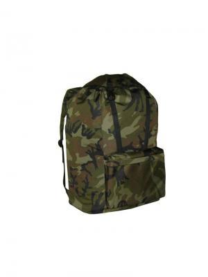 Рюкзак TRAPPER 80Л., OXFORD 600D, ЦВ. КАМУФЛЯЖ (TRAP80B) Campland. Цвет: зеленый, коричневый, хаки