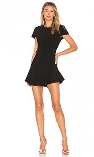 Платье mckenna Amanda Uprichard. Цвет: черный