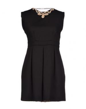 Короткое платье G2CHOICE. Цвет: черный