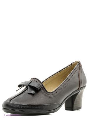 Туфли Walrus. Цвет: черный, коричневый