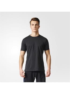 Футболка спортивная муж. FREELIFT CHILL1 Adidas. Цвет: черный
