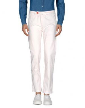 Повседневные брюки BARONIO. Цвет: слоновая кость
