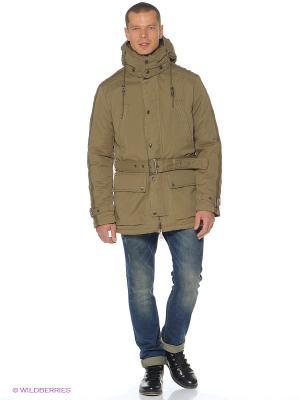 Куртка CONVER. Цвет: бежевый