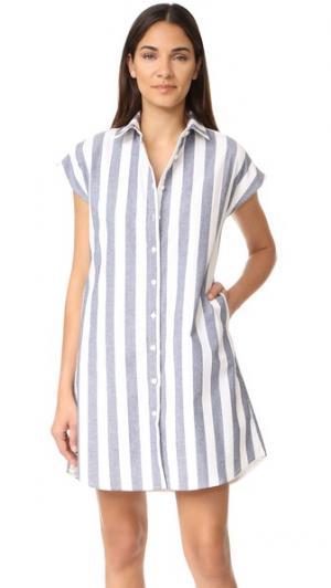 Платье Nina Loup. Цвет: полоска