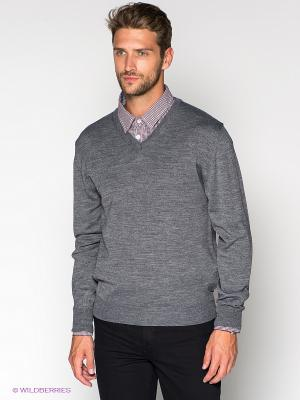 Пуловер Blue Seven. Цвет: серый