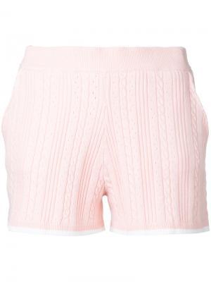 Облегающие шорты Guild Prime. Цвет: розовый и фиолетовый