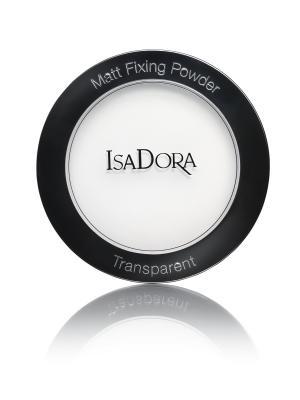 Пудра фиксирующая Matt fixing powder, 9гр ISADORA. Цвет: белый