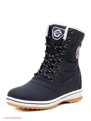Ботинки Tordis. Цвет: синий