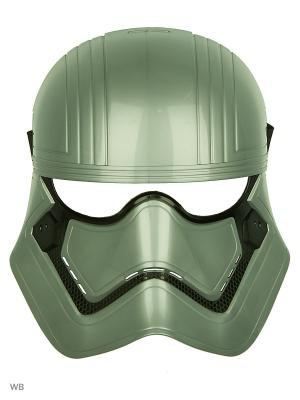 Маска героя вселенной Звездные Войны эпизод 8 Star Wars. Цвет: серый