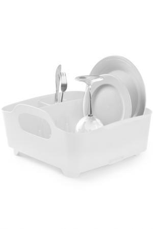 Сушилка для посуды Tub UMBRA. Цвет: белый