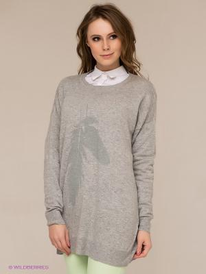 Джемпер Vero moda. Цвет: серый