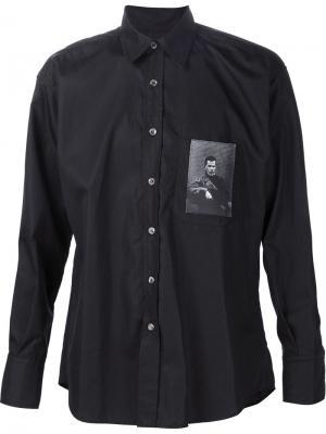 Рубашка Noir Enfants Riches Deprimes. Цвет: чёрный