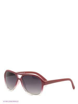 Солнцезащитные очки BB 565 R4 United Colors of Benetton. Цвет: красный