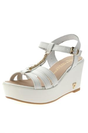 Sandals PRATIVERDI. Цвет: bianco pelle