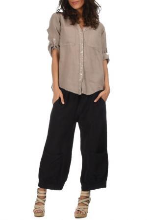 Блуза Lila Rose. Цвет: серый