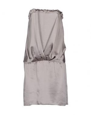 Короткое платье MAGILLA. Цвет: светло-серый