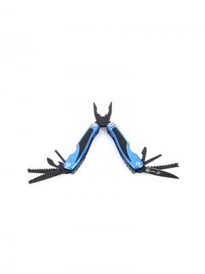 Мультитул  9 инструментов Stinger. Цвет: черный, синий