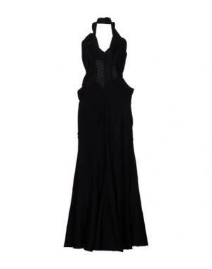 Длинное платье JUNYA WATANABE COMME DES GARÇONS. Цвет: черный