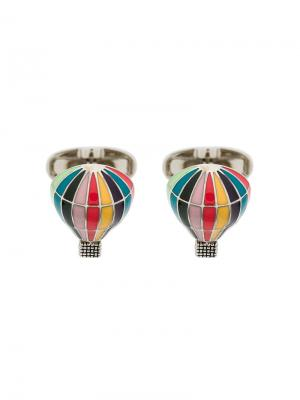 Hot air balloon cufflinks Paul Smith. Цвет: металлический