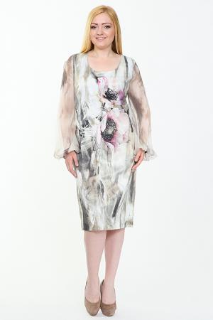 Платье PER TE BY KRIZIA. Цвет: мульти