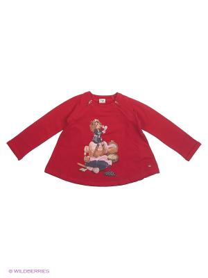 Пуловер Mayoral. Цвет: красный