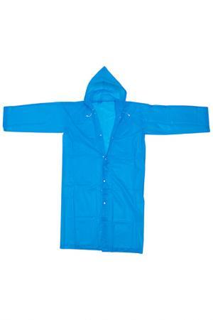 Непромокаемый плащ HOMSU. Цвет: голубой