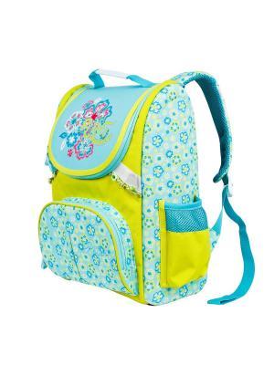 Рюкзак Polar. Цвет: бирюзовый, голубой, желтый