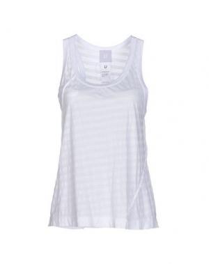 Майка U CLOTHING. Цвет: белый