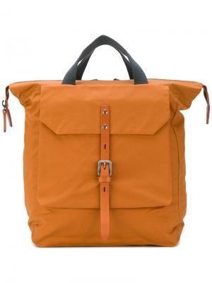 Рюкзак Frances Ally Capellino. Цвет: жёлтый и оранжевый