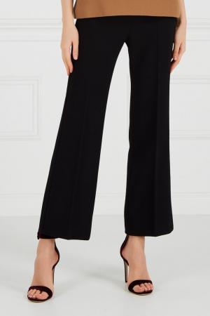 Черные брюки со стрелками Chapurin. Цвет: none