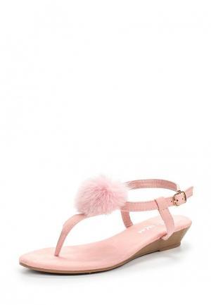 Сандалии Tom & Eva. Цвет: розовый