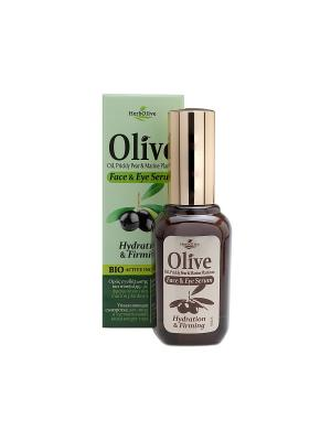 Герболив увлажняющая сыворотка для лица и чувствительной кожи вокруг глаз, 30мл Madis S.A.. Цвет: коричневый