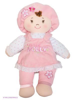 Игрушка мягкая My first Dolly Gund. Цвет: светло-бежевый, розовый