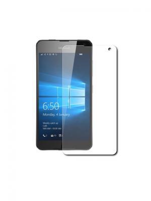 Защитное стекло для Lumia 650 IQ Format. Цвет: прозрачный