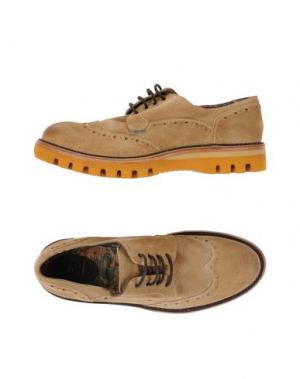 Обувь на шнурках YAB. Цвет: песочный