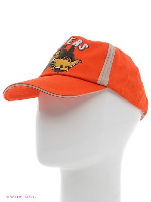 Кепка PlayToday. Цвет: оранжевый, коралловый, красный