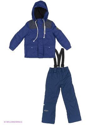 Комплект одежды BOOM. Цвет: синий