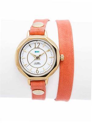 Часы La Mer Collections Del Mar Cantaloupe. Цвет: оранжевый
